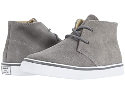 Janie and Jack Chukkah Sneaker (Toddler/Little Kid/Big Kid) (Grey) Boy