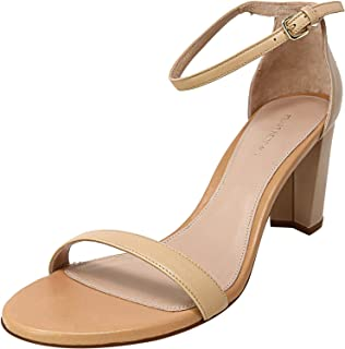 Stuart Weitzman Women's Nearly Nude Ankle-High Leather Pump
