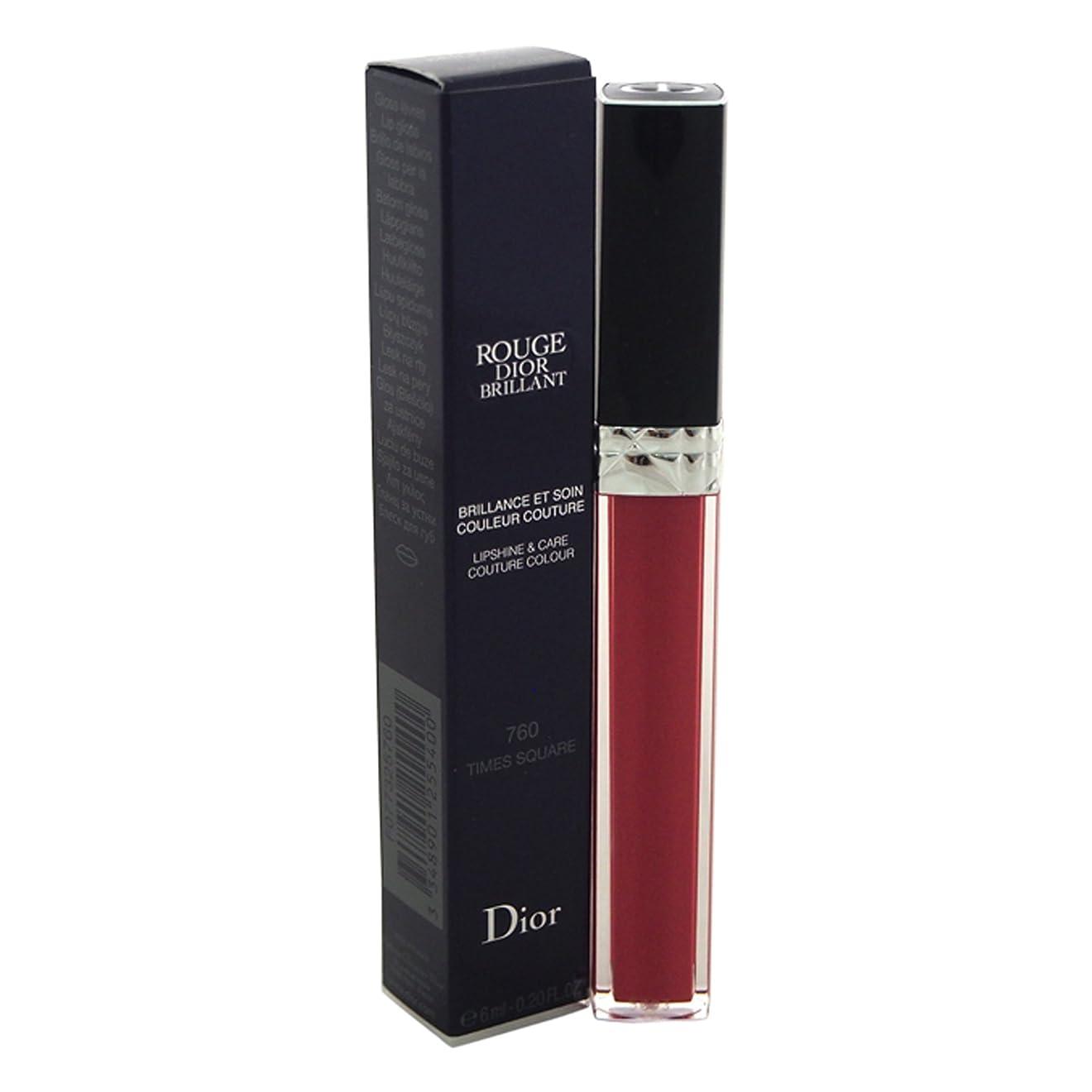 セメント強度愛されし者クリスチャンディオール Christian Dior ルージュ ディオール ブリヤン【760】 [並行輸入品]