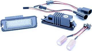 VINSTAR 2X Luces para MATRICULA LED Golf EXEO CANBUS PLAFONES HOMOLOGADOS E4