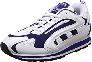 Lakhani Touch 081 Men White/Cobalt Sports Shoes.