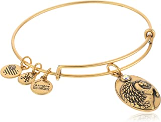 "Alex and Ani""Path of Symbols"" Pegasus Expandable Wire Bangle Charm Bracelet"