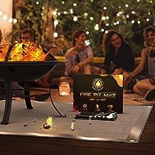 """Grill Mats for Decks – 48"""" x 48"""" Under Grill Mat, Fire Pit Mat for Deck, Silicone Mat, Fire Pit Mats for Under Fire Pit, G..."""