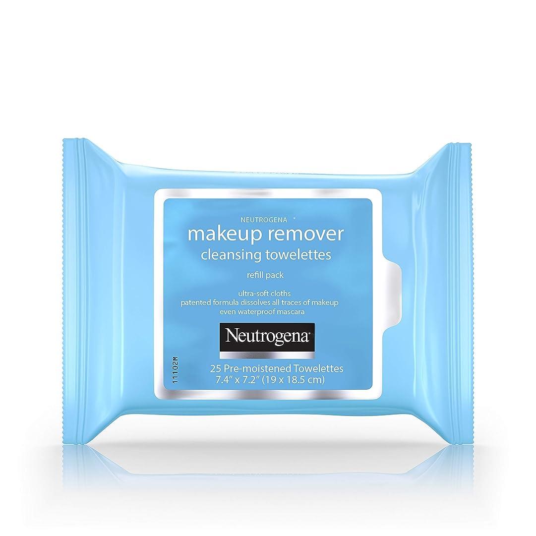 スナップ横たわるアクセスできないNeutrogena Make-up Remover Cleansing Towelettes Refill Pack 25 Pc (並行輸入品)
