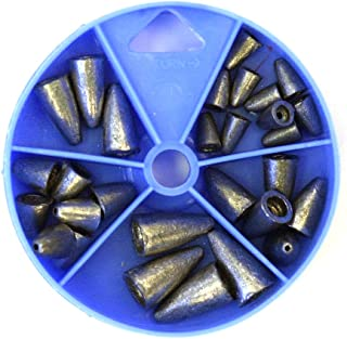 Eagle Claw Sinker Assortment Worm Weight (Per 27)