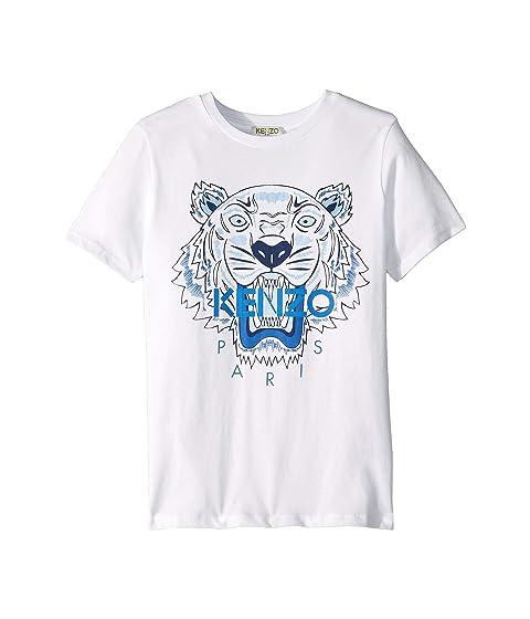 Kenzo Kids Light Tiger Logo Tee (Big Kids)