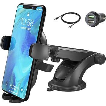 SmartTap Qi ワイヤレス充電 オートホールド式 車載ホルダー EasyOneTouch4 wireless (10W/7.5W 急速充電対応 伸縮アーム 粘着ゲル吸盤) WL-SH-03