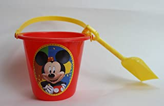eef937928da Disney Mickey Mouse Sand Pail and Shovel - Perfect Summer Mickey Bucket and  Shovel Set for