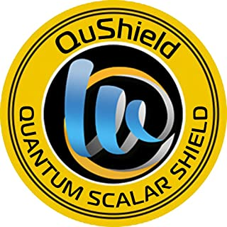 QuShield EMF Radiation Protection Sticker for Cell Phones, Laptops, Tablets, Computers