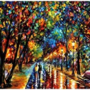 Amazon Com Large Wall Art Landscape Oil Painting On Canvas By Leonid Afremov When Dreams Come True Handmade