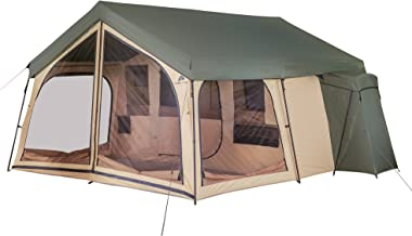 Ideal For Backpacking, Outings, Events, Picnics Or Music Festivals Attractive Tough Roomy Comfy Easy Set Up Weather Resistant Cool Ozark Trail 14 Person Spring Lodge Cabin With Media Sleeve And Mudmat