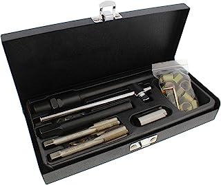 ABN Spark Plug Thread Repair Rethreading Set, 14mm Metric – Rethreading Tool Kit – Comprehensive Taps, Inserts, More