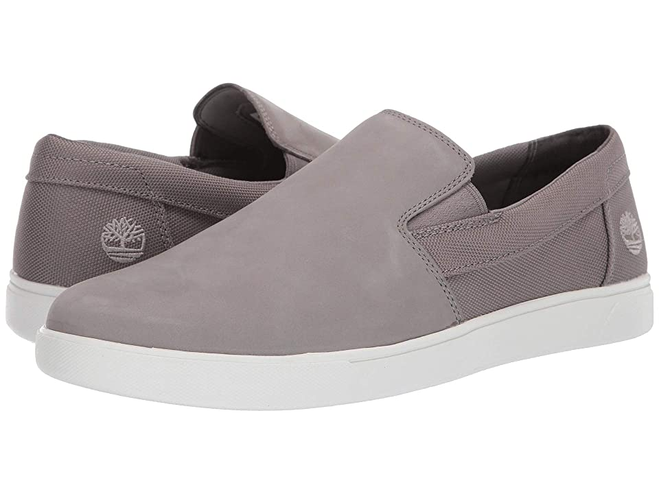 Timberland Groveton Slip-On (Medium Grey Nubuck) Men