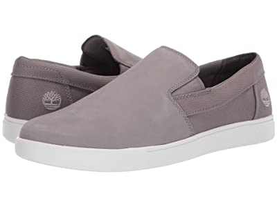Timberland Groveton Slip-On (Medium Grey Nubuck) Men