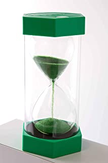 Large Sensory Sand Timer Hourglass by Playlearn. 3 min Educational Toy