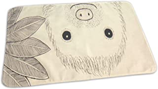 Changing Pad Hello Sloth Baby Diaper Urine Pad Mat Fantastic Boys Mattress Pad Sheet for Any Places for Home Travel Bed Play Stroller Crib Car 19.7x27.5