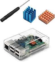Enokay Case for Raspberry Pi 2 Model B Raspberry Pi 3 Model B (Transparent)
