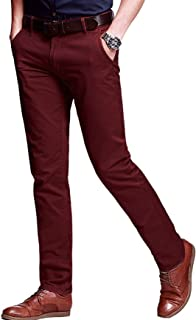 Men's casual straight, leg regular fit flats front pant stretch chino's comfortable