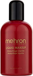 Mehron Makeup Liquid Face and Body Paint (4.5 oz) (RED)