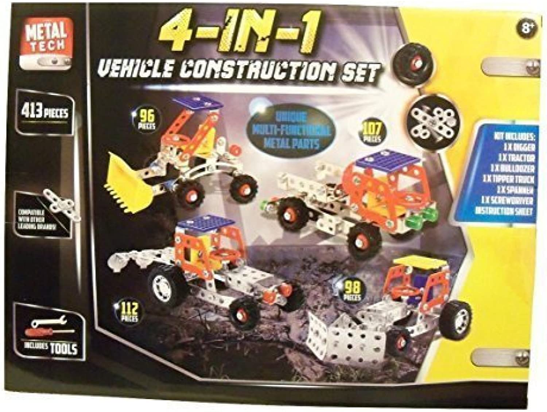 Metal Tech Build Your Own Vehicle Vehicle Vehicle Set Construction