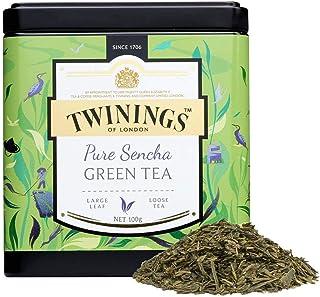 TWININGS Tea - Discovery Collection - Pure Sencha Green Tea - 100gr Caddy Lose Tee