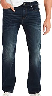 American Eagle Mens 4469521 Ne(X) t Level Original Bootcut Jean, Dark Rich Indigo