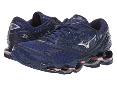 Mizuno Wave Prophecy 8 (Blueprint Blue/Silver) Women