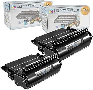LD Compatible Lexmark 64015HA Set of 2 Black Laser Toner Cartridges for The T644tn, T642dtn, T640, T642tn, T640dtn, T644dn, T640tn, T644n, T642dn, T642n, T640dn, T644, T640n, T644dtn, T642 Printers