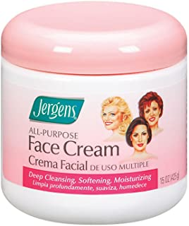 Jergens All Purpose Face Cream, 15 Ounce (Pack of 3)