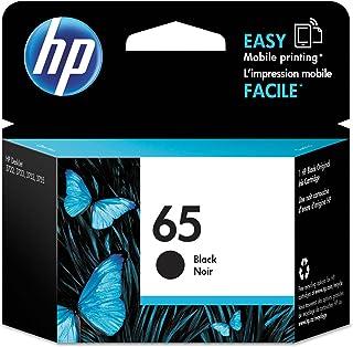 Original HP 65 Black Ink Cartridge | Works with HP AMP 100 Series, HP DeskJet 2600, 3700 Series, HP ENVY 5000 Series | Eli...