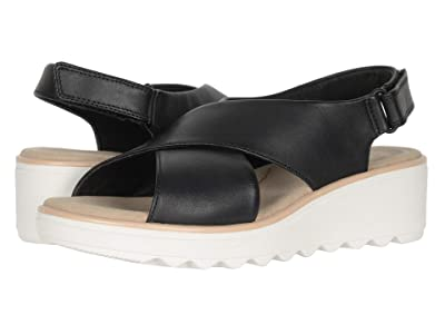Clarks Jillian Jewel (Black Leather) Women