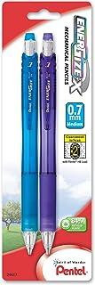 Pentel EnerGize-X Mechanical Pencil Assorted Barrel Colors, Pack of 2 (PL107BP2M)