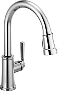 Peerless Westchester Single-Handle Kitchen Sink Faucet with Pull Down Sprayer, Chrome P7923LF