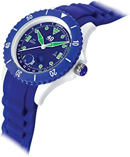 40Nine Women's Japanese-Quartz Watch with Silicone Strap, Blue, 20 (Model: 40NINE03/NAVY10)