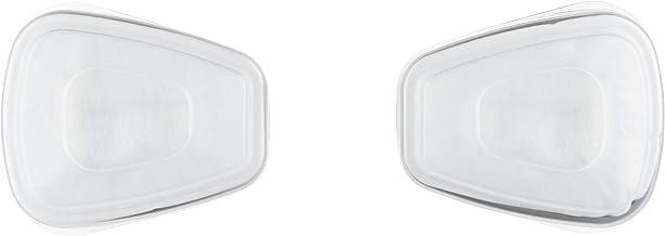 3M 6002CR Filtri di Ricambio per Respiratore a Semimaschera 6002C1, Bianco