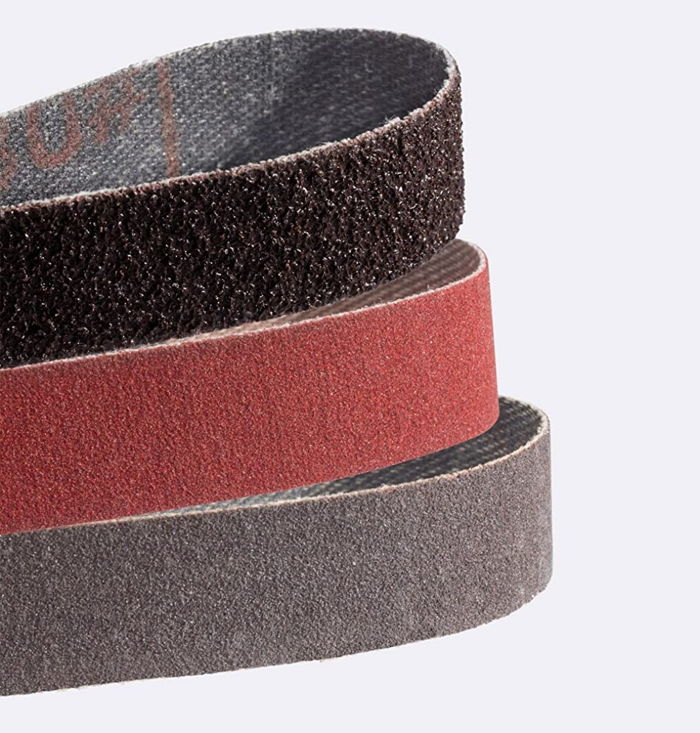 Smith's 50949 Combination Sharpener Replacement Belts (Coarse, Medium and Fine)