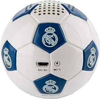 Real Madrid - Altavoz Inalámbrico Balón BlancoAzul