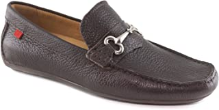 MARC JOSEPH NEW YORK Made in Brazil Mens Fasion Wall Street Grainy Leather Buckle Loafer