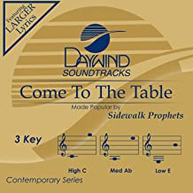 Come To The Table Accompaniment/Performance Track