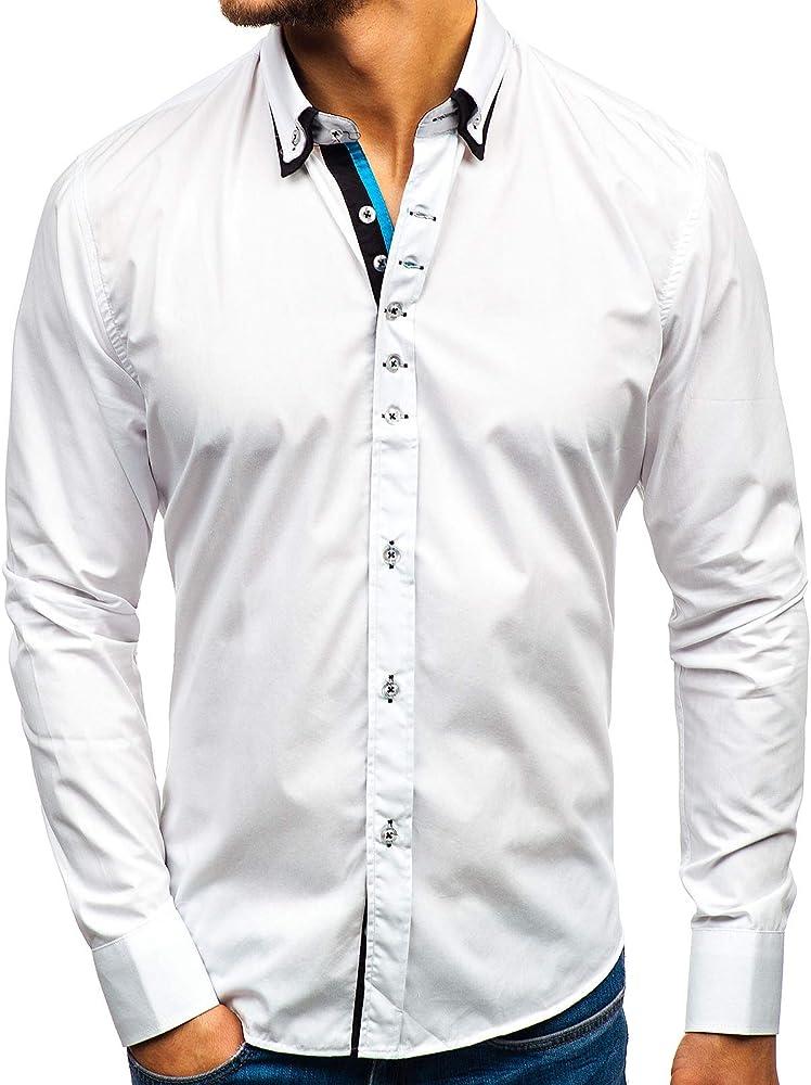 Bolf camicia elegante, manica lunga,80% cotone, 20% poliestere BOLF 2782