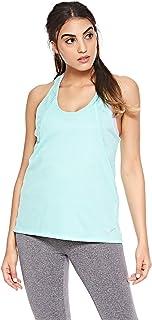 بلايز حفر مع تقنية اير وشعار العلامة من ملابس نايك الرياضية للنساء من نايك - اخضر، مقاس XL