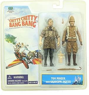 Stevenson Entertainment Chitty Chitty Bang Bang Two Pack Figure Toy Maker & Grandpa