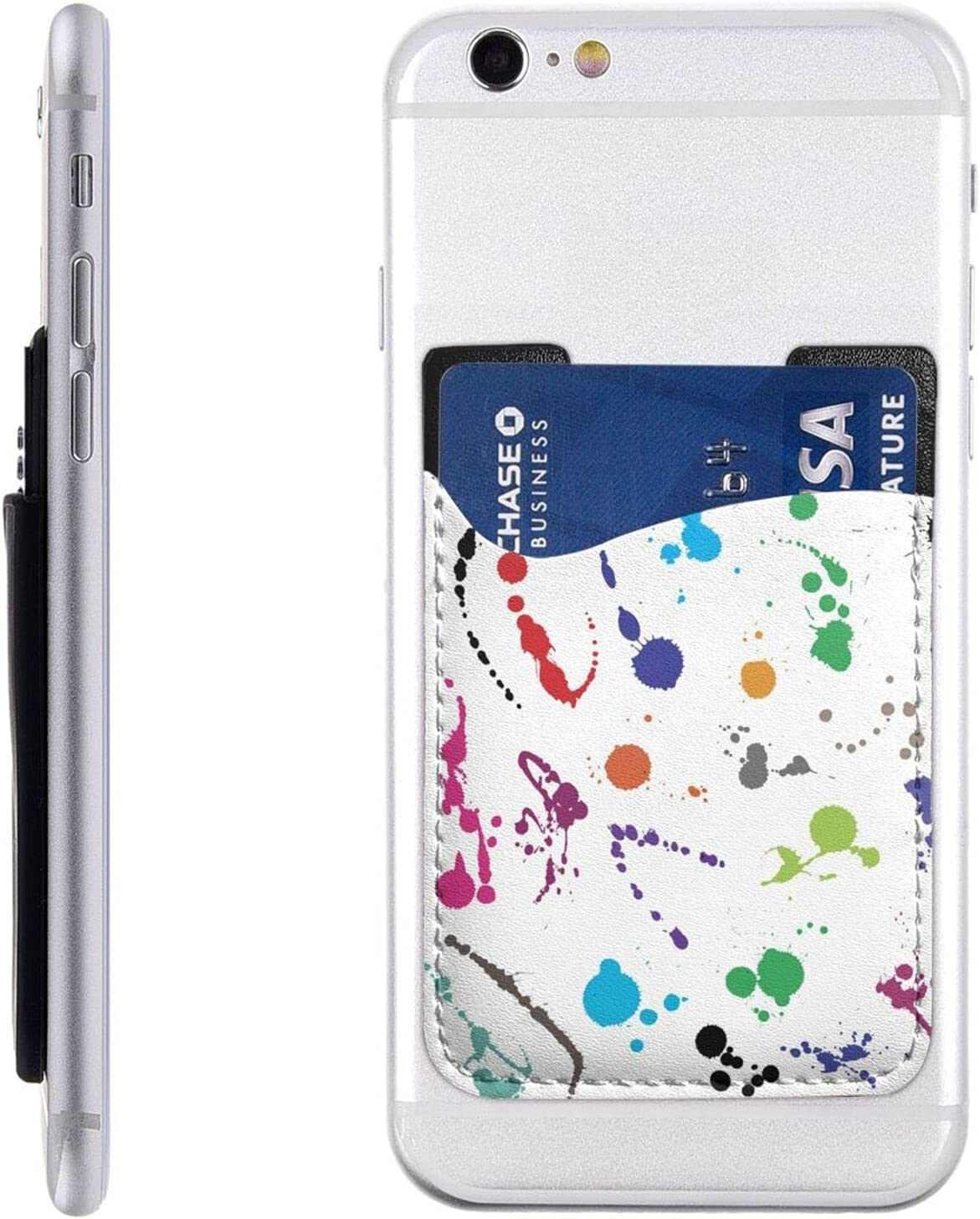 Indianapolis Mall Abstract Paint security Splashes Phone Card On Ca Holder Cell Stick