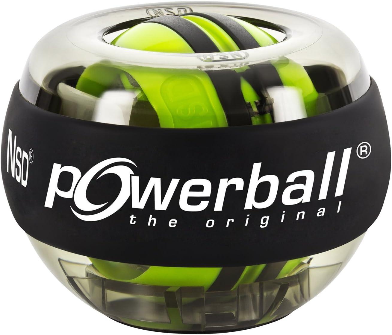 Powerball the original® Handtrainer Autostart Powerball, Unisex, Negro Transparente