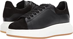 Alexander McQueen - Leather & Perforated Nubuck Sneaker