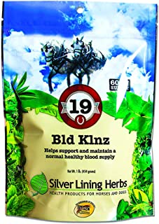 Bld Klnz | Supports  Horses Normal Blood Cell and Circulatory System Health| Supports Normal Equine Blood Values | 60 Day ...