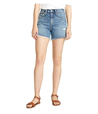 Silver Jeans Co. Frisco High-Rise Shorts L54605RCS248 (Indigo) Women