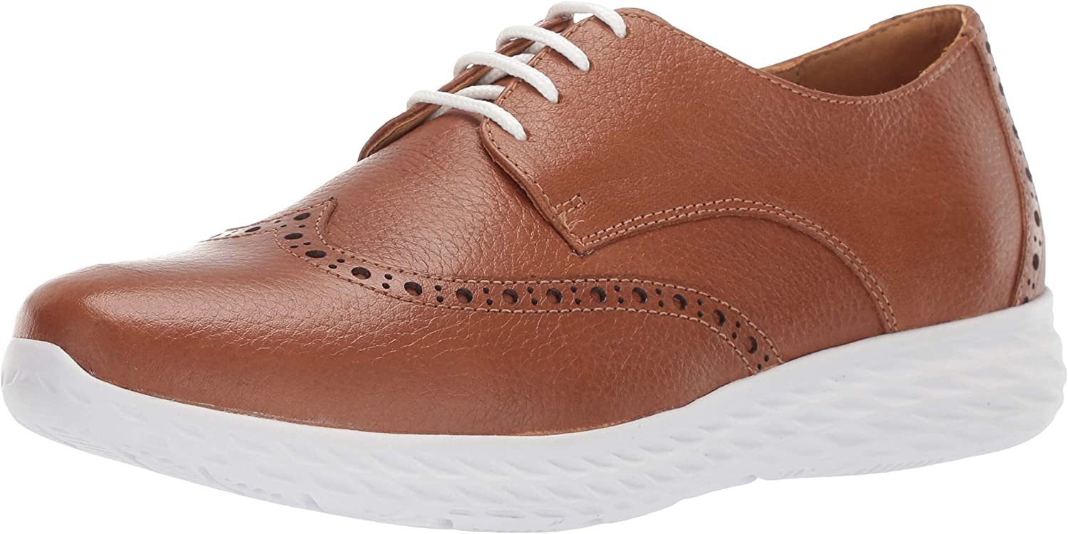 Driver Club USA Womens Womens Genuine Leather Raleigh Extralight Wingtip Sneaker Loafer