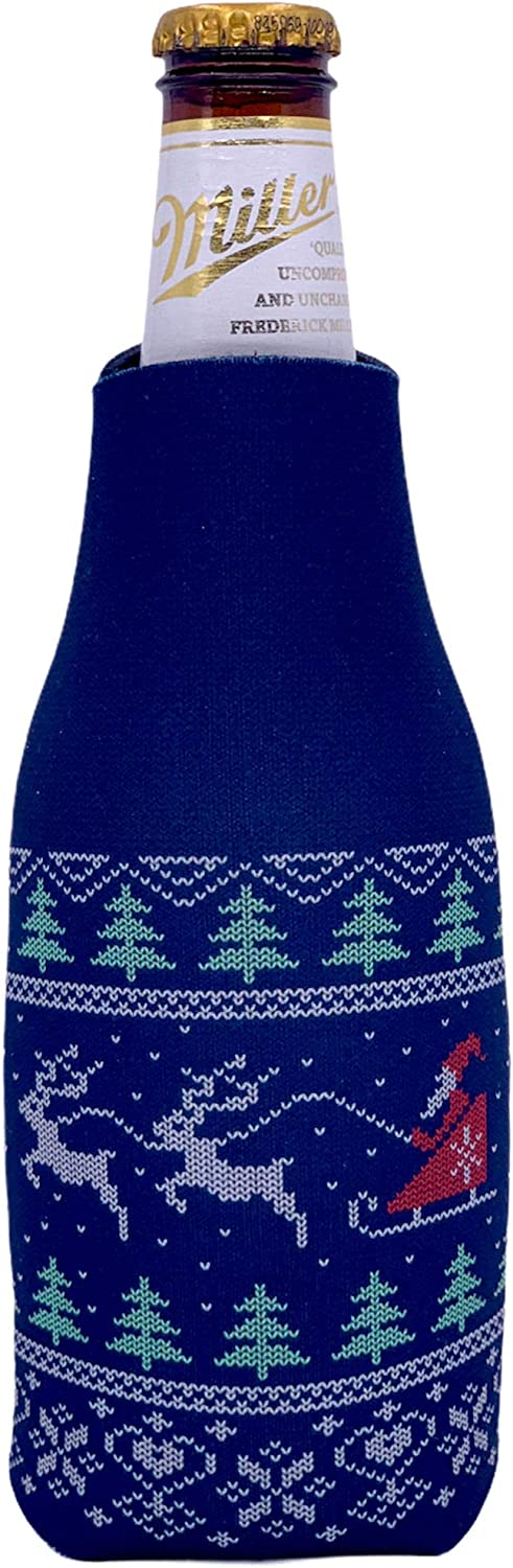 Christmas Sweater Beer 1 Bottle Some reservation Coolie Credence