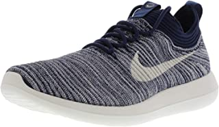 Nike W Roshe Two Flyknit V2, College Navy Sail-MTLC COPPERCOIN, 8 US